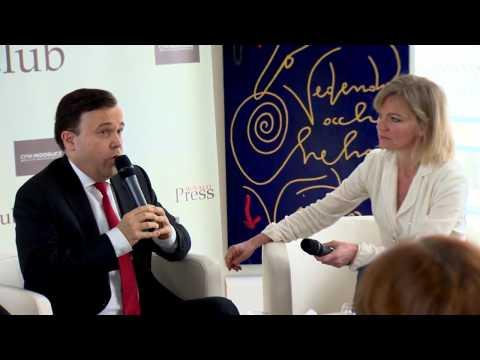 Stéphane Valeri invité du Monaco Press Club