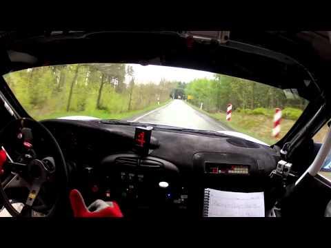 Onboard Porsche GT3 Zeltner/Zeltner Sachsen Rallye 2013 Stage 6/8 [HD] Rallye-MAD.com  Rallye-MAD.com