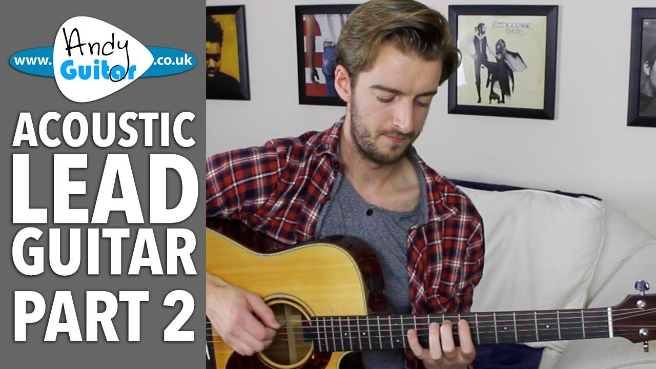 Major Scale All Over The Neck – Acoustic Lead Guitar #2