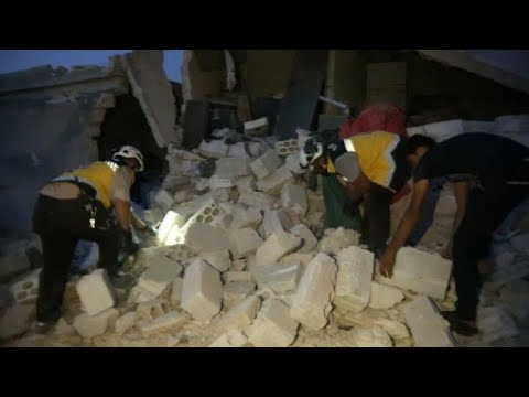 Syrien: Über 15 Menschen (darunter 6 Kinder) bei Luft ...