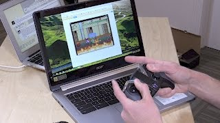 Acer Chromebook R13 Runs Android Apps and Works with Game Controllers Video