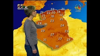 Retrouvez la météo du jeudi 14 Novembre 2019 sur Canal Algérie