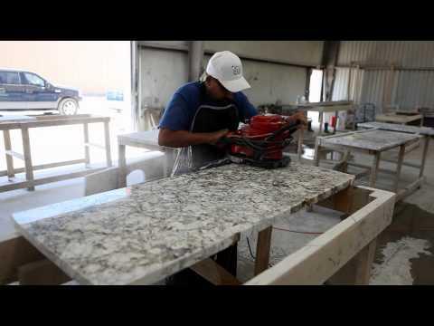 Fox Granite Fabrication Process | Fabricating