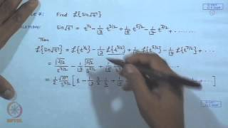 Mod-03 Lec-22 Laplace Transform And Its Existence