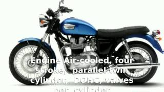 8. Triumph Bonneville 800  Engine motorbike Features Specification Details Info Top Speed