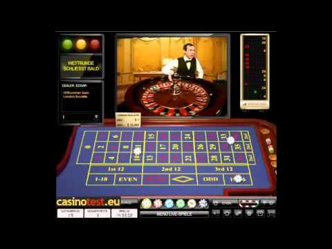 Live Dealer London Roulette Video