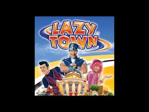 10 LazyTown CD-US -  You Are A Pirate (2005)
