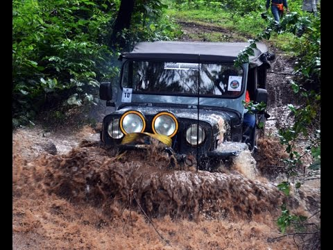 "4X4 ""Nature Riders 2K 15"" Rally  at Belthangady"