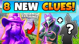 Fortnite SEASON 6 SKINS EXPLAINED + DARK DRIFT?! - 8 Clues & Theories! (Battle Royale Update)