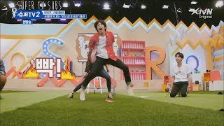 [ENG] Super TV S2 - Super Junior x Red Velvet laughing ninja game!