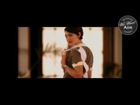 Monica Belluci sexy ad for a bra