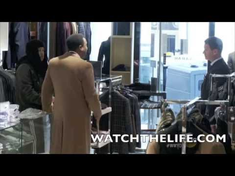 racial - THIS IS THE LIFE OF A BLACKMAN EVERYDAY!!!!!!! What Would You Do? Racial Profiling In A High End N.Y. Store! (FUBU Founder Daymond John Goes Undercover)