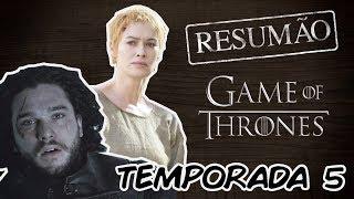 Nosso resumo da quinta temporada de Game of Thrones! Relembre tudo que aconteceu e se prepare para a estreia da sétima...