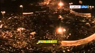 Egyptian Revolution 1-02-2011 Aljazeera Live part 4 مصر بث مباشر الجزيرة