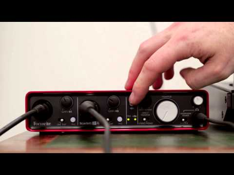 Focusrite // Scarlett 2i4 Audio Interface Tutorial