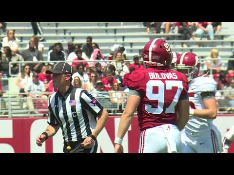 HIGHLIGHTS: Alabama A-Day Spring Game