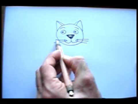 Cat drawing tutorial with Zaliko Sulakauri
