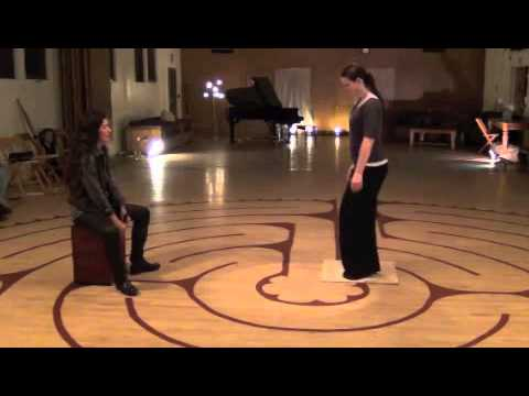Laura and Holly: Improvisation Percussion Duet - Flamenco Footwork and Cajon