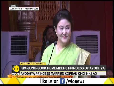 South Korean First Lady addresses media