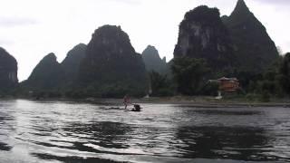 Li River 漓江 boating, GuangXi province