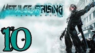 Metal Gear Rising Walkthrough - PT. 10 - File 04 - Hostile Takeover Part 2