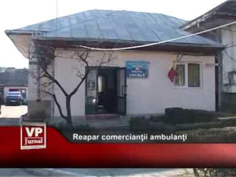 Reapar comercianții ambulanți