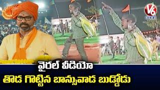 Boy Funny Reactions For MP Dharmapuri Arvind Speech In Banswada