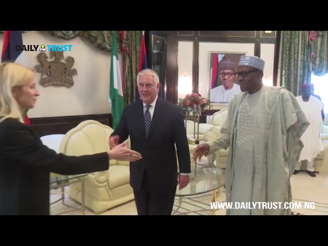Breaking: Trump sacks Secretary of State Tillerson after visiting Nigeria