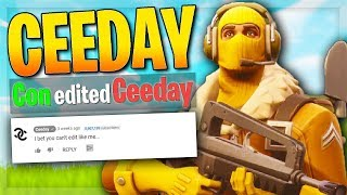 This is how CEEDAY Makes His FORTNITE VIDEOS... 😂
