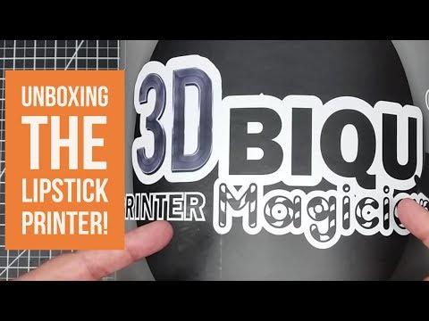 BIQU Magician -  Unboxing the Lipstick Printer!