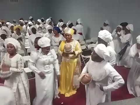 Cherubim  & Seraphim Agbo Jesu  5th anniversary night revival part 1 (Dallas.TX)