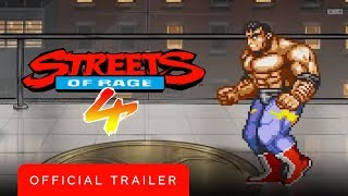 Streets of Rage 4 - Official Retro Reveal Trailer by GameTrailers