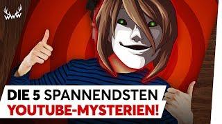 Video Die 5 SPANNENDSTEN YouTube-Mysterien! | TOP 5 MP3, 3GP, MP4, WEBM, AVI, FLV Agustus 2018