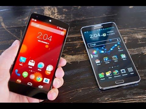 LG Nexus 5 vs Galaxy Note 3