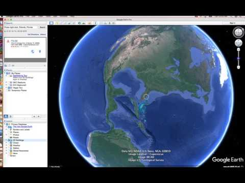 Google Earth Pro Demo