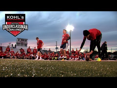 2014 Underclassman Challenge | Kohl's Kicking, Punting & Snapping Camps