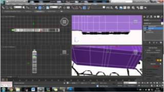 3Ds Max gun modelling Timelapse (sketching and modelling)