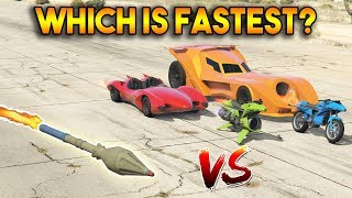 Video GTA 5 ONLINE : RPG VS BOOST (WHICH IS FASTEST?) MP3, 3GP, MP4, WEBM, AVI, FLV Maret 2019