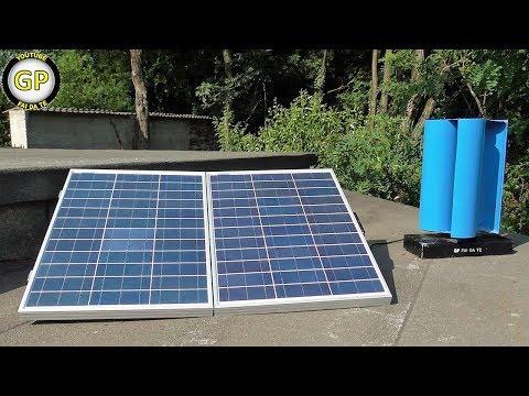ENERGIA GRATIS - Fotovoltaico e generatore FAI DA TE