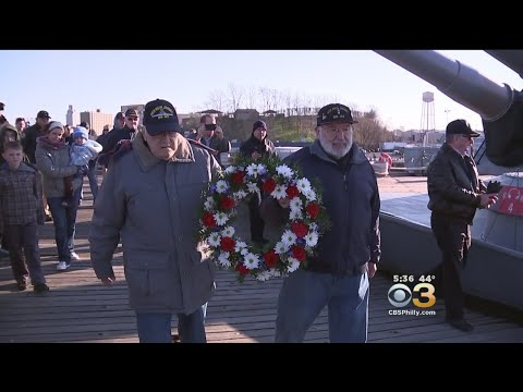 Pearl Harbor Remembrance At Battleship New Jersey