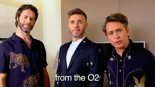 Take That – We're coming to a cinema near you!