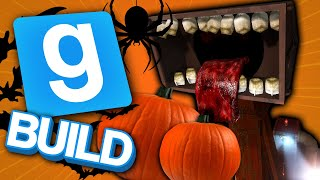 Is This The Next Siren Head?   Gmod Build Halloween Special