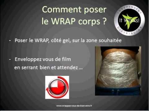 comment poser un wrap corps