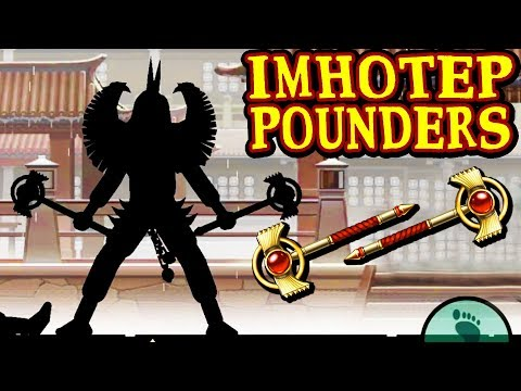 Shadow Fight 2 Special Edition. INSANE Imhotep Pounders. Defeating Buffalo and Mantis on INSANE!