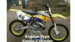 1. 2004 Suzuki RM 250 Engine & Top Speed