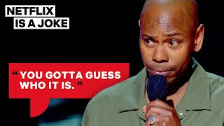 Dave Chappelle's Impressions Are Insanely Accurate | Netflix Is A Joke