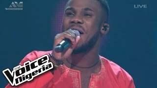 "Dewe' sings ""Could You Be Loved"" / The Voice Nigeria 2016"