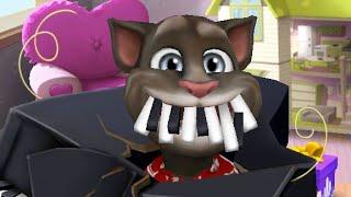 My Talking Tom İzle - Tom Oyun Oynuyor - Başına Piyano Düştü