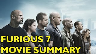 Nonton Movie Spoiler Alerts - Furious 7 (2015) Video Summary Film Subtitle Indonesia Streaming Movie Download