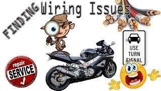 In this video I am checking on some wiring issues on the CBR...